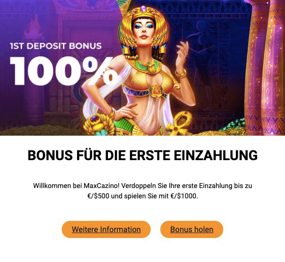 Casino Max Bonus 1