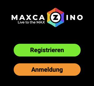 Max Cazino Registrierung